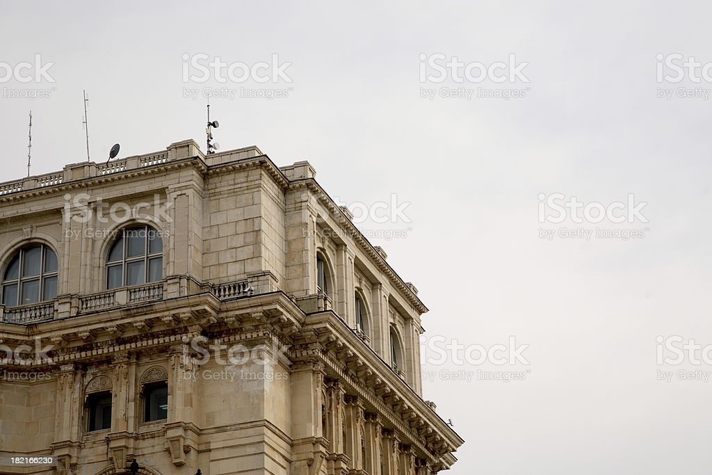 Romania: Peoples Palace royalty-free stock photo