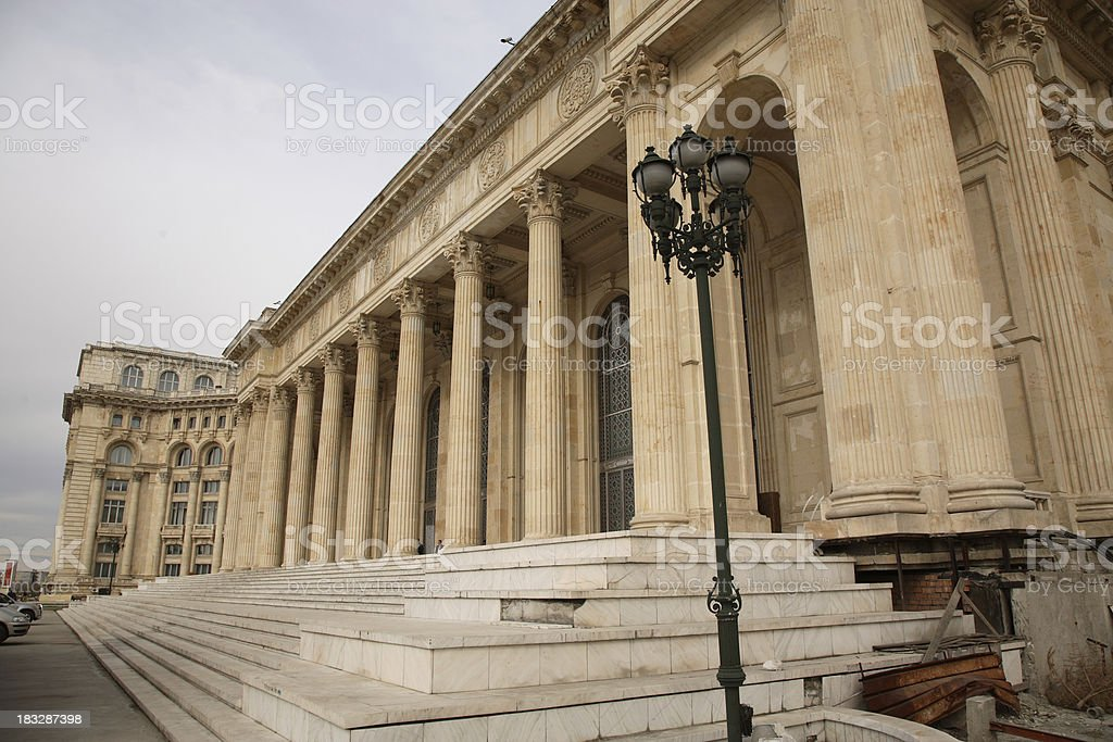 Romania: People's Palace royalty-free stock photo