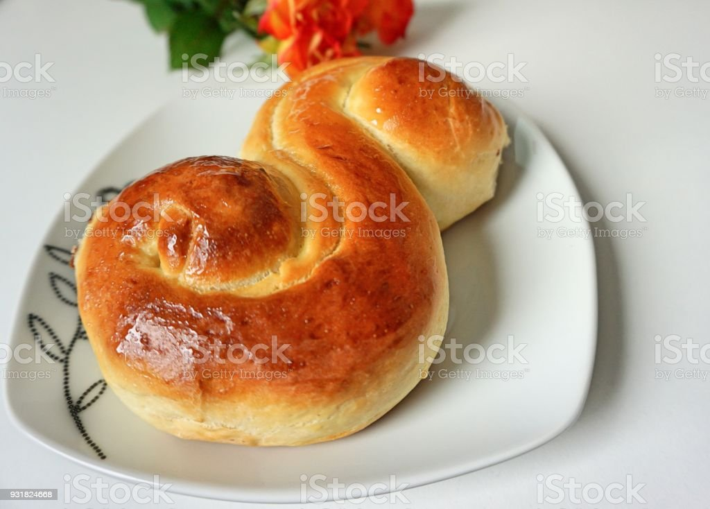 Romanian dessert stock photo