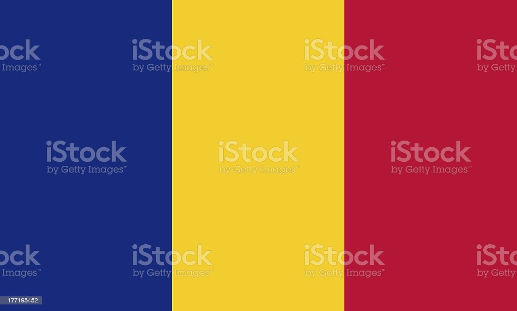 romanian flag royalty-free stock photo