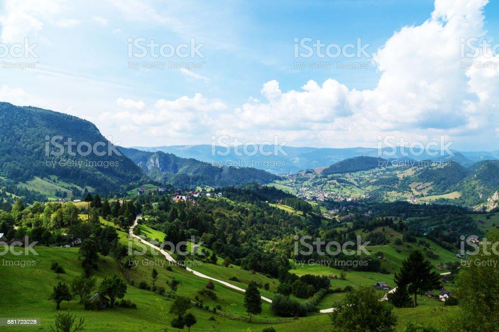 Rumänische Landschaft – Foto