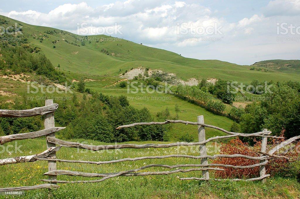 Romanian mountains royalty-free stock photo