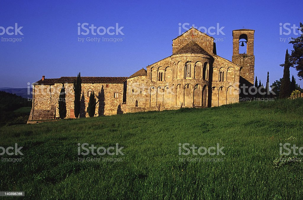 pieve di romena stock photo