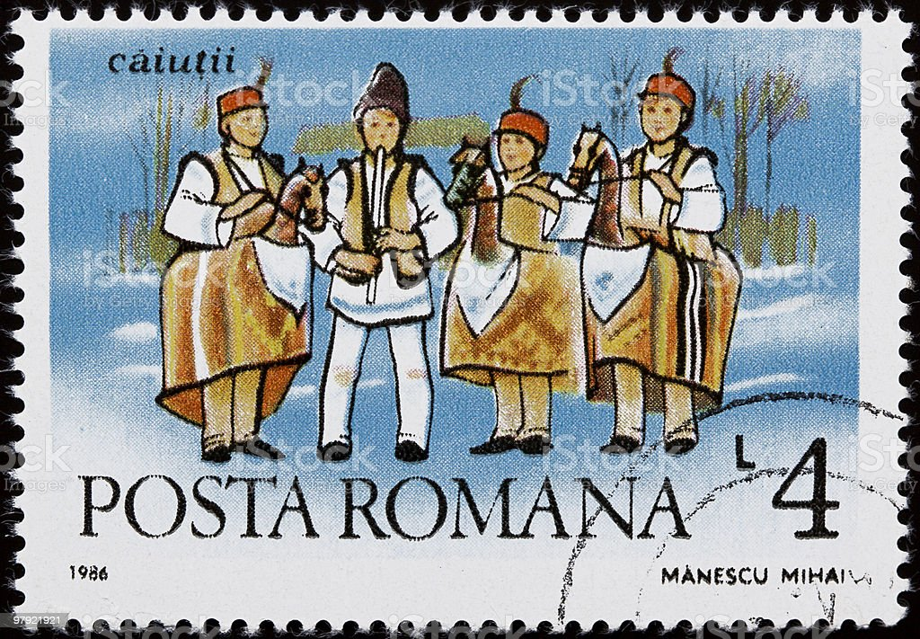 Romanian traditions royalty-free stock photo