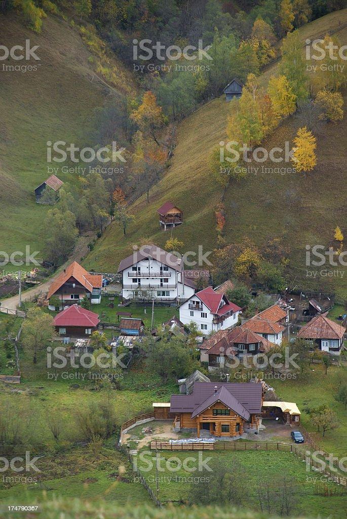 Romanian Valley stock photo