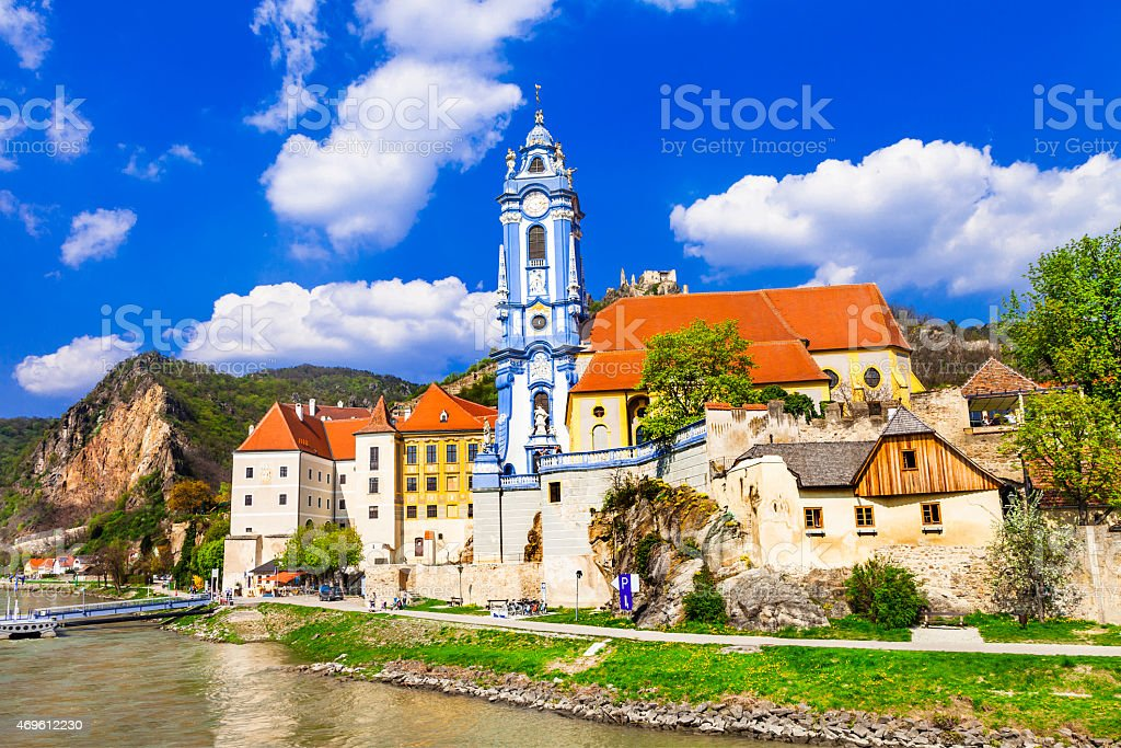 Romantic Austria,Wachau Valley. stock photo
