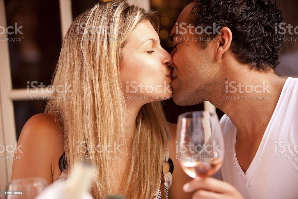 Romantic Cafe Restaurant royalty-free stock photo