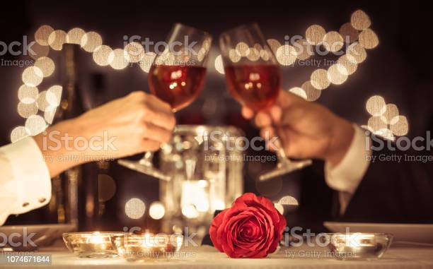 Photo of Romantic candlelight dinner