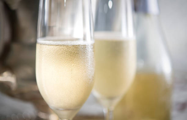 romantic champagne for two - champagne stock pictures, royalty-free photos & images