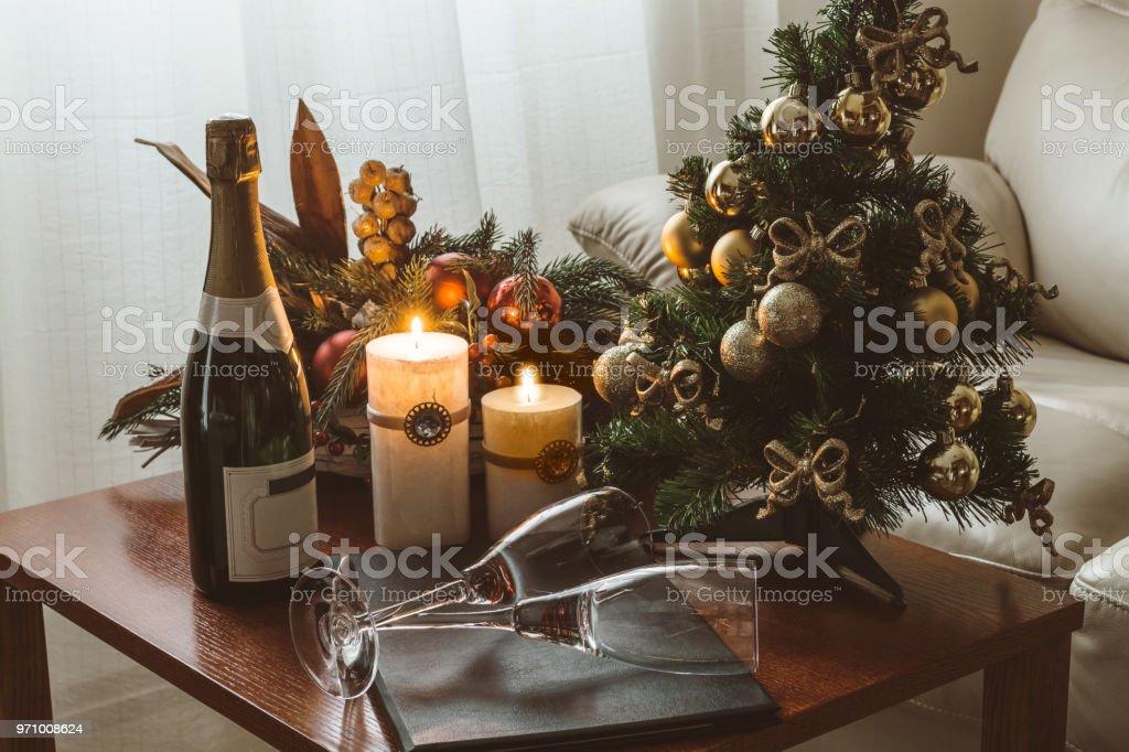 Romántico de Navidad - foto de stock