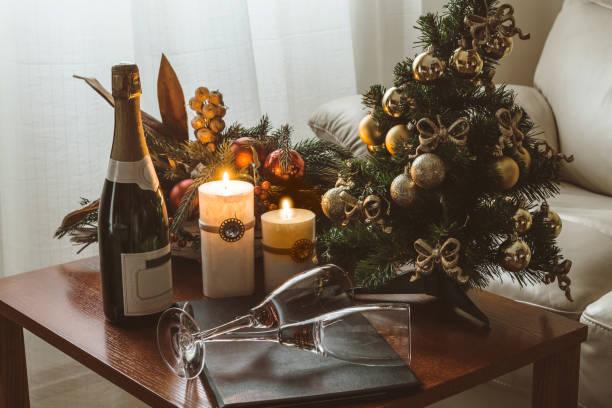 Romantic Christmas stock photo