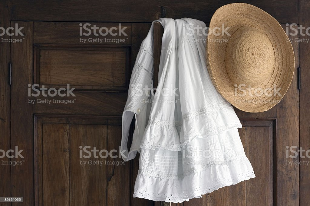Romantic clothes Undress royalty-free stock photo