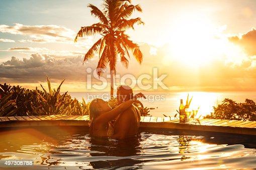 istock Romantic Couple on Vacation 497308788