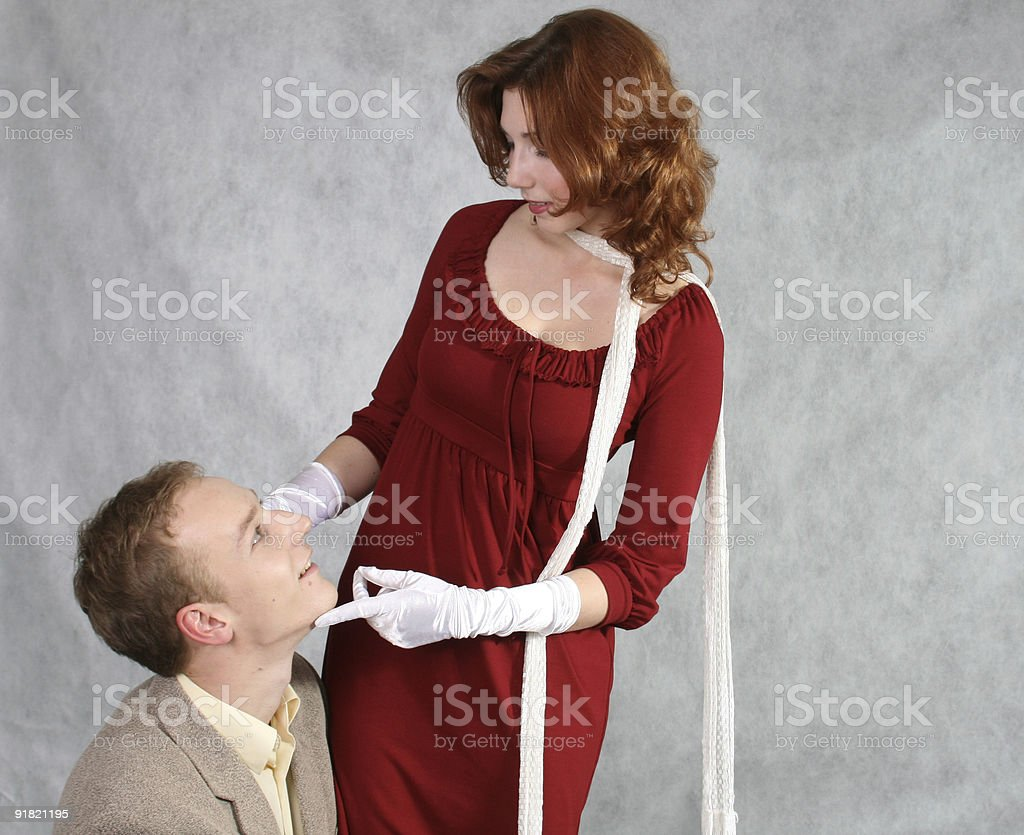 Romantic couple royalty free stockfoto