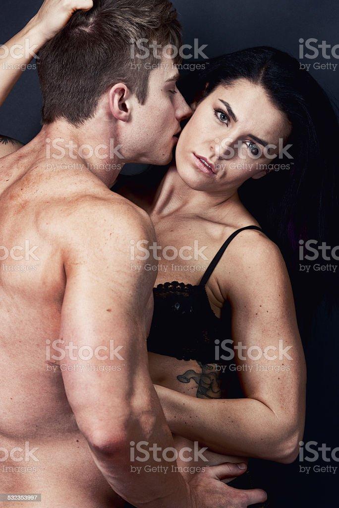 romantic couple romancing stock photo istock