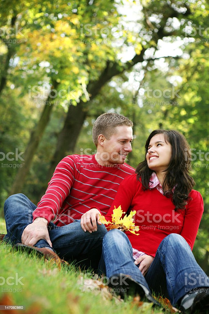 romantic couple,series royalty-free stock photo