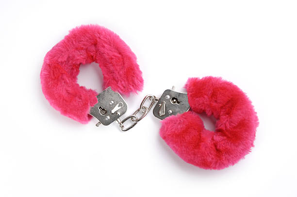 romantic cuffs - fluffy stock photos and pictures