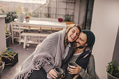 istock Romantic date on our rooftop garden 877072810