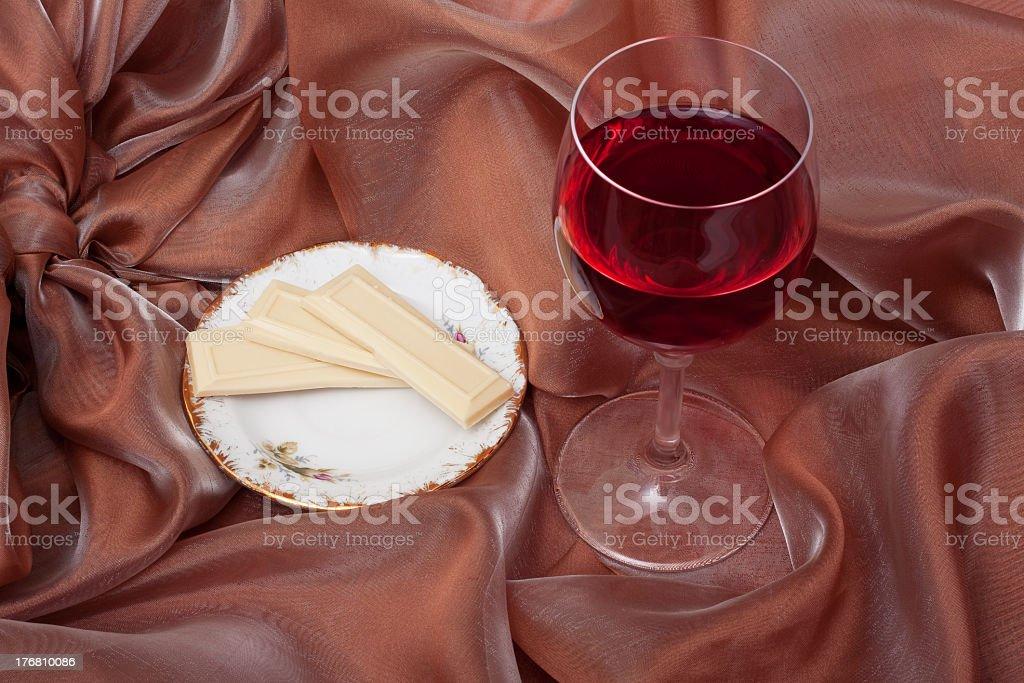 romantic dessert royalty-free stock photo