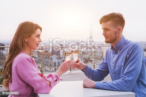 istock romantic dinner for couple in luxurious restaurant 615409880