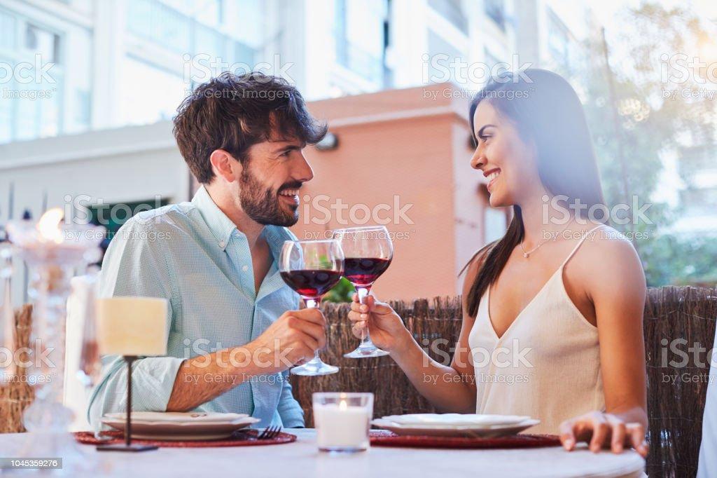 Romantisches Abendessen – Foto