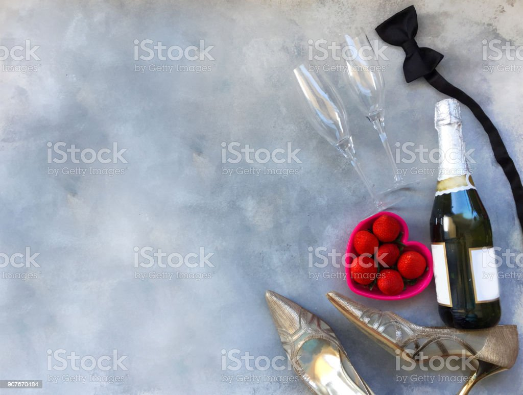 Romantic Evening Background stock photo