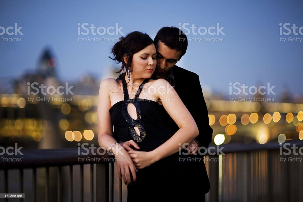 romantic evening royalty-free stock photo