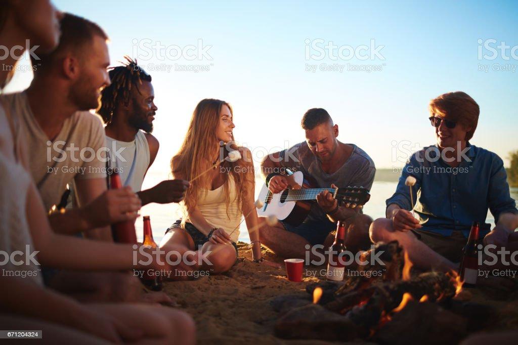 Romantic evening圖像檔