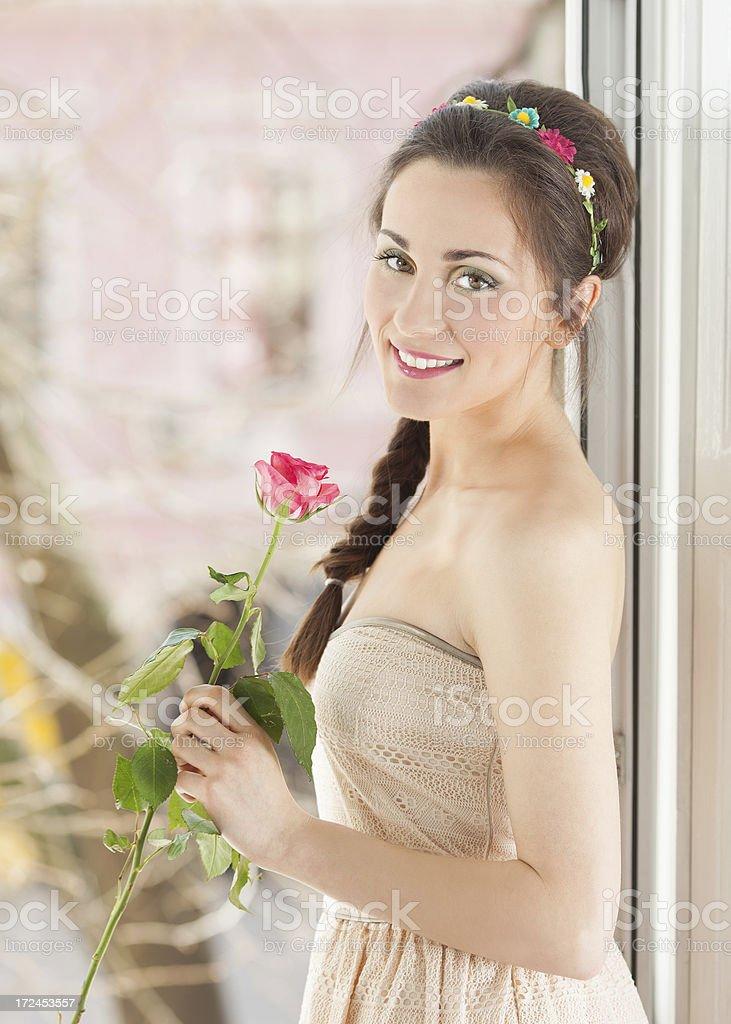Romantic girl royalty-free stock photo