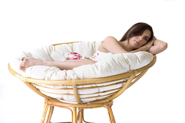 Papasan Chair Stock Photos Pictures Royalty Free Images