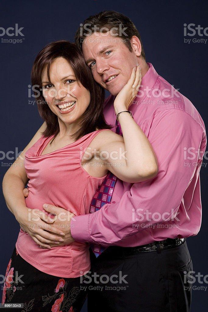 Romantyczny szczęśliwa Para zbiór zdjęć royalty-free