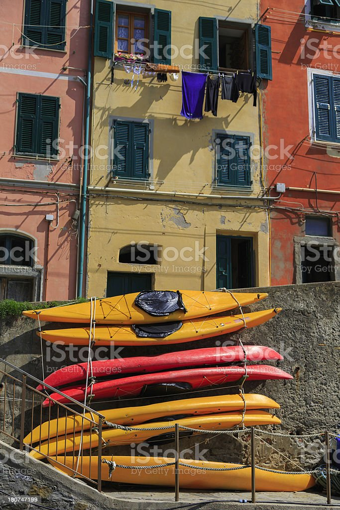 romantic Italian village royalty-free stock photo