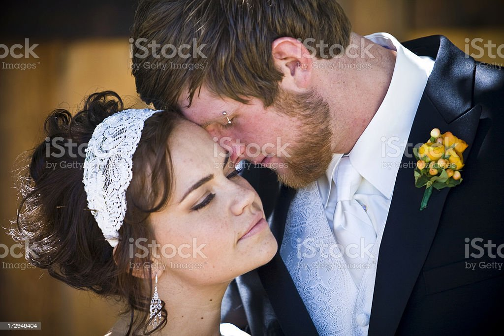 Romantic Married Couple royalty-free stock photo