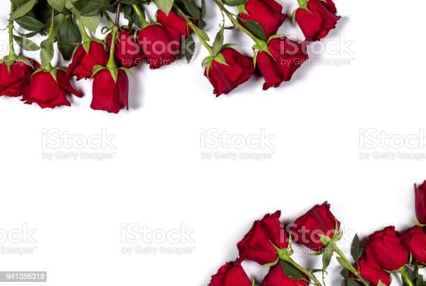 Romantic mockup floral frame made of beautiful large red roses on picture id941356318?b=1&k=6&m=941356318&s=612x612&h=30h37y rwyzc51brrcxx8u19dhq7x68dympklmob1su=