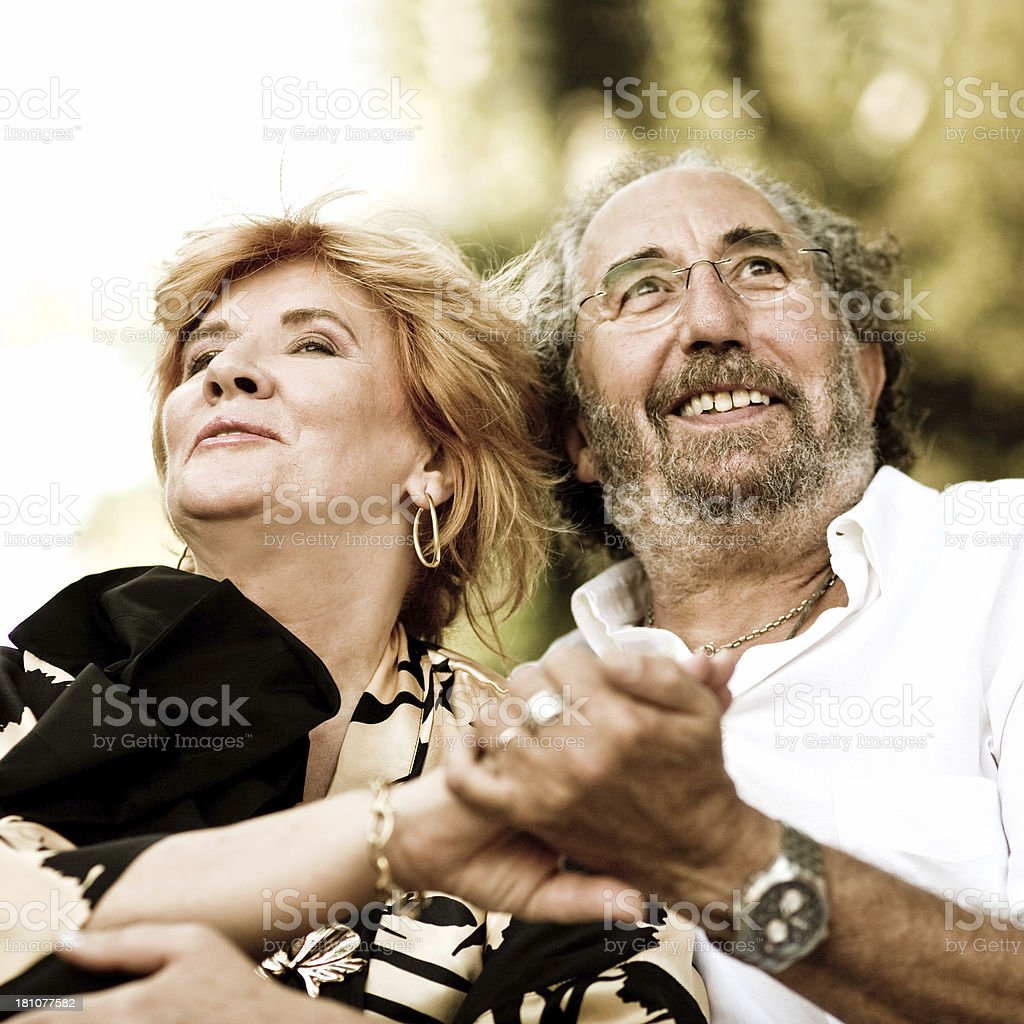 romantic moment royalty-free stock photo
