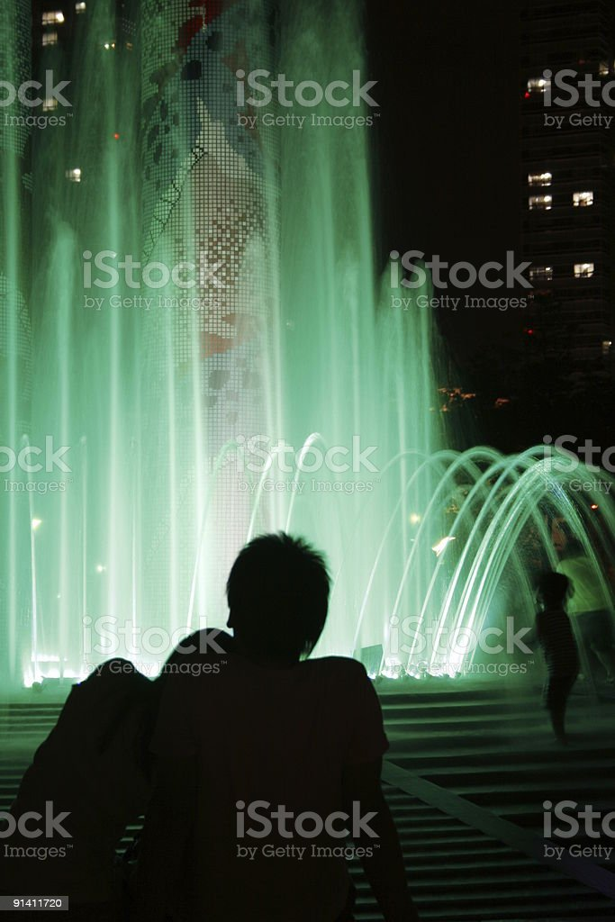 Romantic Moment royalty-free stock photo