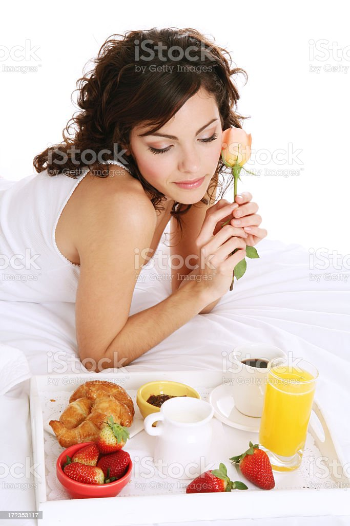 Romantic morning royalty-free stock photo