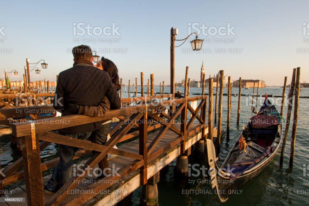 Romantic Of Venice stock photo