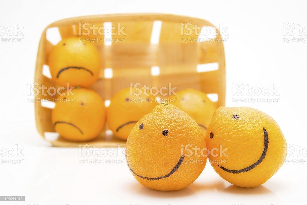romantic oranges royalty-free stock photo
