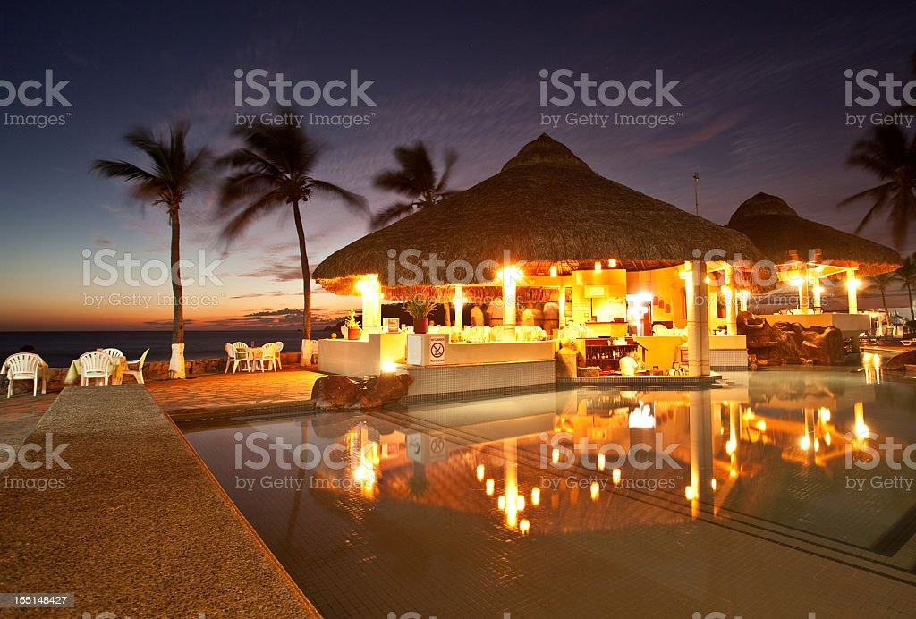 Romántico restaurante - foto de stock