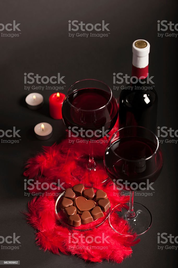 Romantico set-up foto stock royalty-free