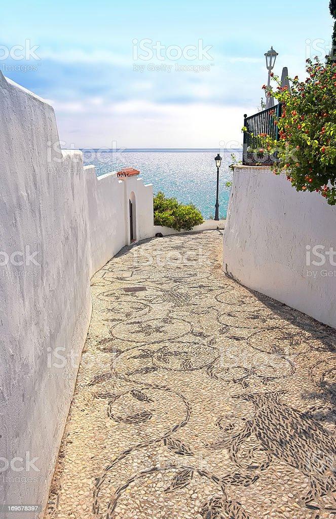 Romantische spanische village – Foto