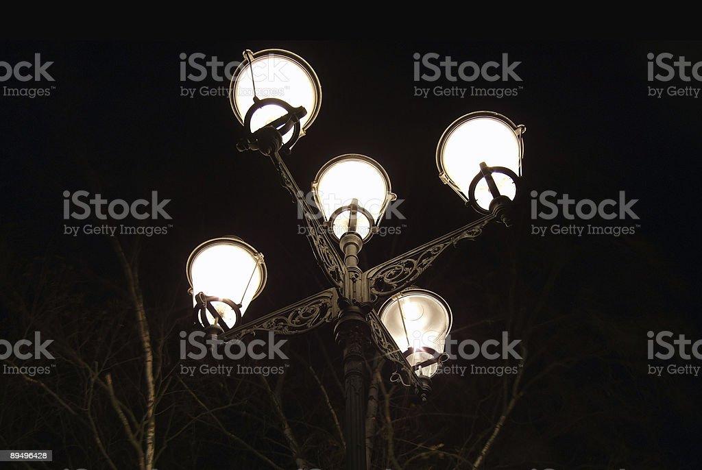 Romantyczne streetlight III zbiór zdjęć royalty-free