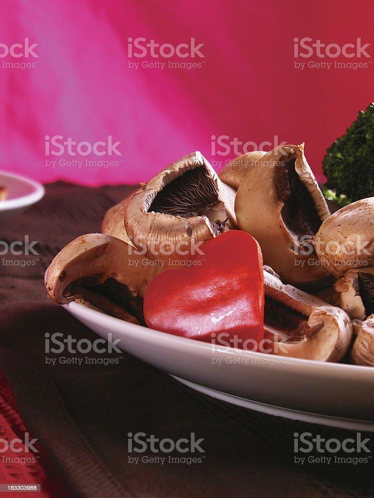 Romantic Vegetables royalty-free stock photo