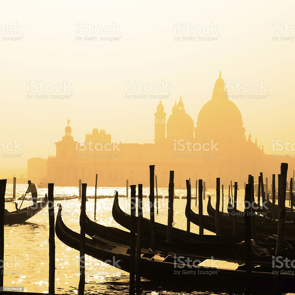 Romantic Venice, Italy royalty-free stock photo