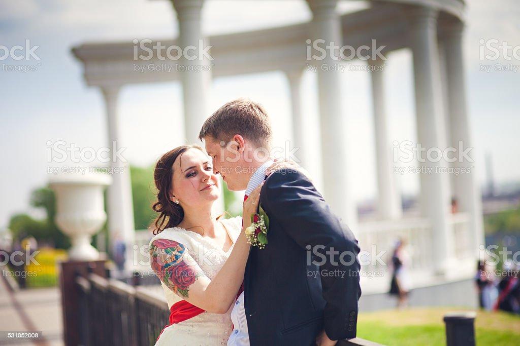Romantic Wedding Couple Stock Photo Download Image Now Istock