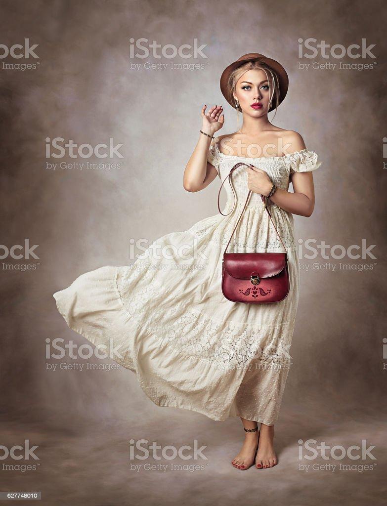 Mujer romántica - foto de stock