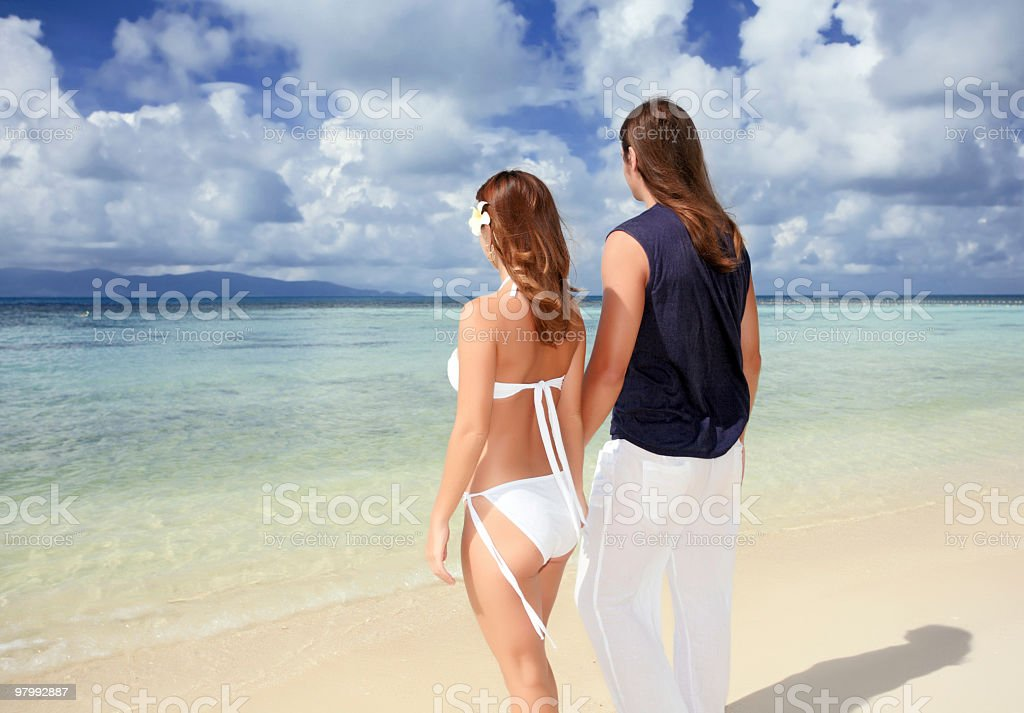 Romantic young couple. royalty-free stock photo