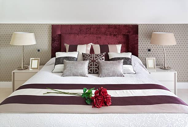 Romantically dressed bed with roses picture id181080033?b=1&k=6&m=181080033&s=612x612&w=0&h=bek1wonxezfs 4hgpkufiodumbzd4acfakbt4hxj5mk=