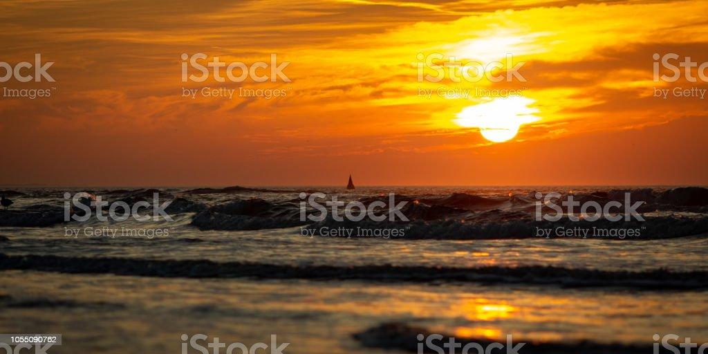 Romantischer Raummotive eine der Nordsee – Foto